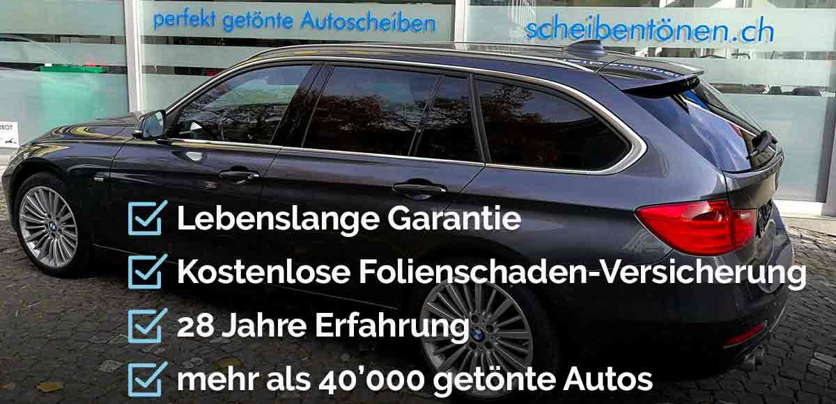 Scheiben tönen beim 3er BMW Kombi